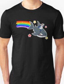 Wadanohara and the Great Blue Sea - Wadanohara and Samekichi riding the Rainbow Unisex T-Shirt