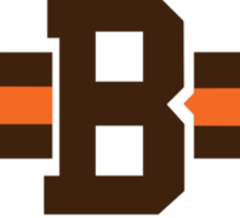 cleveland browns B Sticker