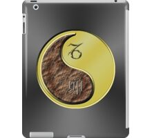 Capricorn & Rabbit Yin Metal iPad Case/Skin