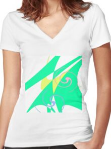 Colours G Women's Fitted V-Neck T-Shirt