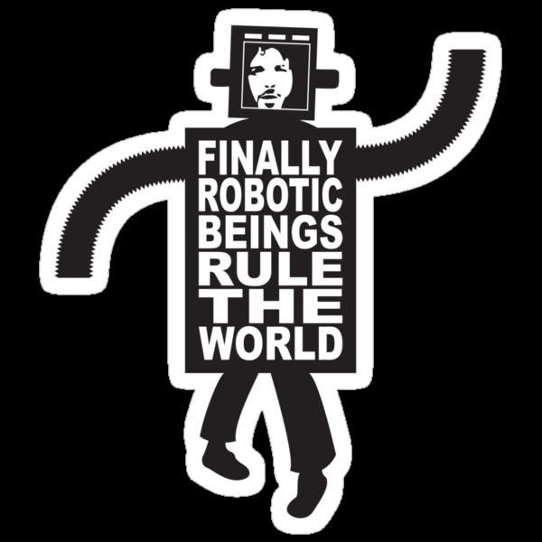 Robotic Beings - Bret by tastypaper
