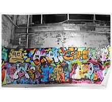 amongst graffiti art Poster