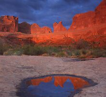 Arches Sunrise by Steve  Taylor