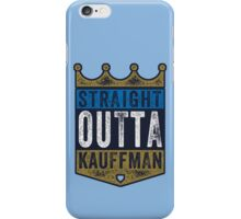 Straight Outta Kauffman (alt color) iPhone Case/Skin