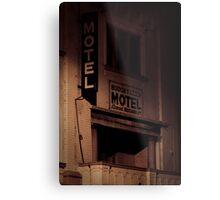 Creepy Hotel Metal Print