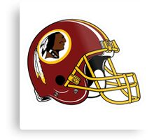 washington redskins helmet logo Metal Print