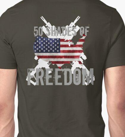 50 Shades of Freedom  Unisex T-Shirt