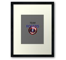 Team Rogers  Framed Print