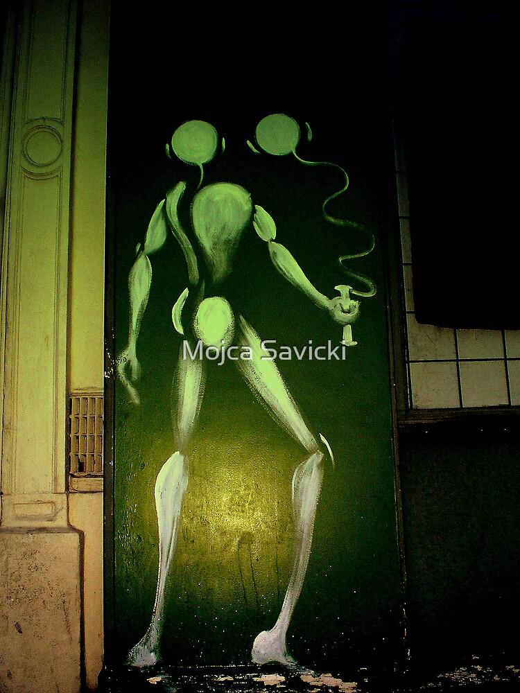 Graffiti Parisian Style by Mojca Savicki
