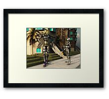 Dropped His Soda Framed Print