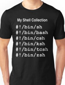 My Shell Collection Unisex T-Shirt