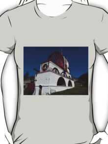 "The Great Laxey Wheel. 72ft 6"" Diameter T-Shirt"