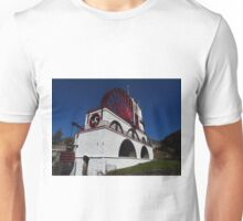 """The Great Laxey Wheel. 72ft 6"""" Diameter Unisex T-Shirt"""
