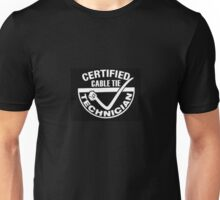 Cable Tie Certified Technician  Unisex T-Shirt