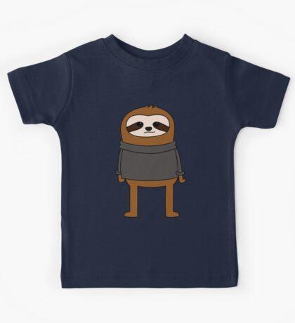 Simple Sloth Steve Kids Tee