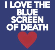 I love the blue screen of death by onebaretree