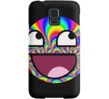 Awesome Funny face - Tumblr Trippy effect Samsung Galaxy Case/Skin