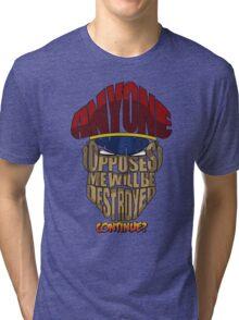 M. Bison Wins Tri-blend T-Shirt