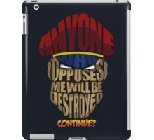 M. Bison Wins iPad Case/Skin