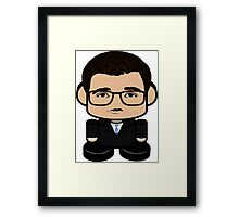 Chris Hayes Politico'bot Toy Robot 1.0 Framed Print