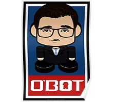 Chris Hayes Politico'bot Toy Robot 2.0 Poster