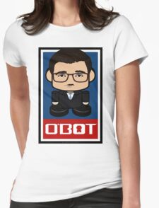 Chris Hayes Politico'bot Toy Robot 2.0 Womens Fitted T-Shirt