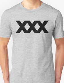 XXX Solid [Black Ink] T-Shirt
