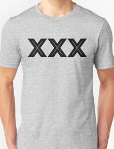 XXX Inline [Black Ink] T-Shirt