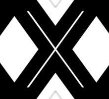XXX Single Inline [Black Ink] Sticker