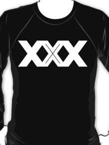 XXX Single Inline [White Ink] T-Shirt