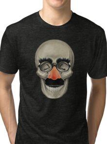 Died Laughing - Skull Tri-blend T-Shirt