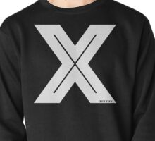 X Inline [White Ink] Pullover
