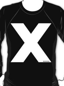 X [White Ink] T-Shirt
