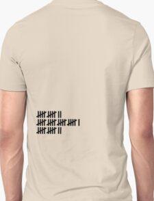 12 21 12 Tally [Black Ink] T-Shirt