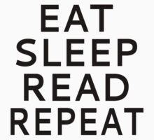 Eat Sleep Read Repeat Kids Clothes