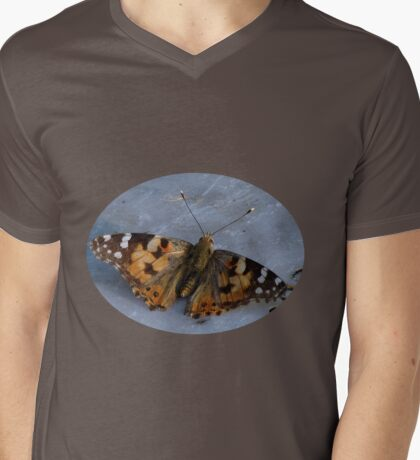 Painted Lady Tee - 01 Mens V-Neck T-Shirt