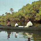Canoeing the Zambezi, Zimbabwe by Bev Pascoe
