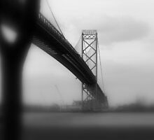 Ambassador Bridge by Barry W  King