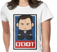 Chris Christie Politico'bot Toy Robot 2.0 Womens Fitted T-Shirt