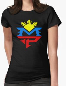 Manny 3 Womens Fitted T-Shirt