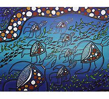 Aboriginal Turtle Journey Photographic Print