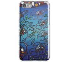 Aboriginal Turtle Journey iPhone Case/Skin