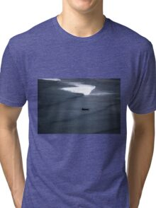 Lonely Boat Tri-blend T-Shirt