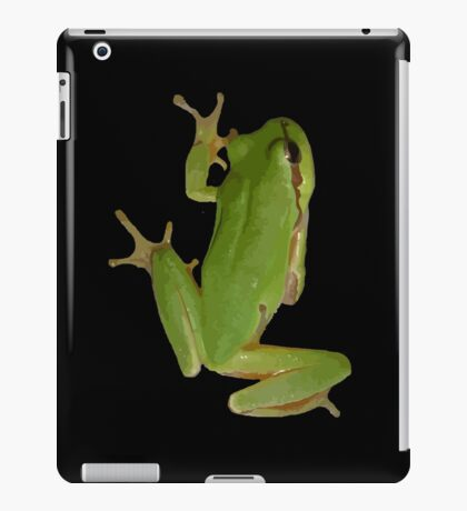 Green Tree Frog iPad Case/Skin