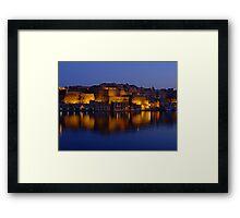 Valletta Reflections Framed Print