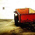 Red Cart by RobertCharles