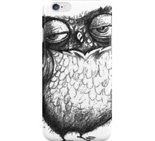 Cocky Owl iPhone Case/Skin