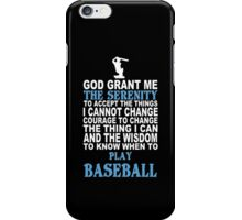Funny Baseball Tshirts & Hoodies iPhone Case/Skin