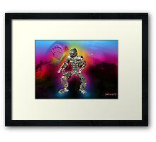 Robot Pride... Some Like '.Em Butch... Framed Print