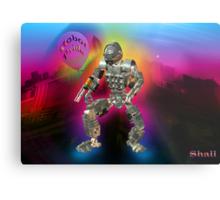 Robot Pride... Some Like '.Em Butch... Metal Print